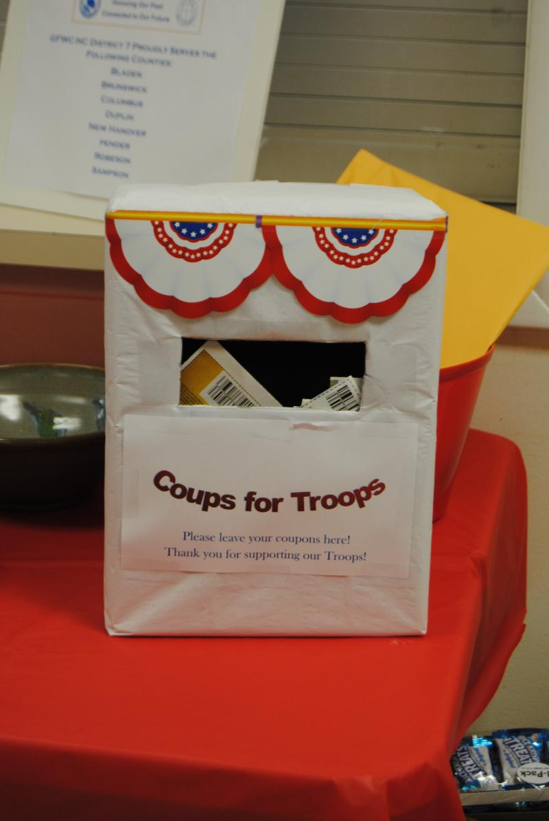 Collecting &quot;Coups for Troops&quot;