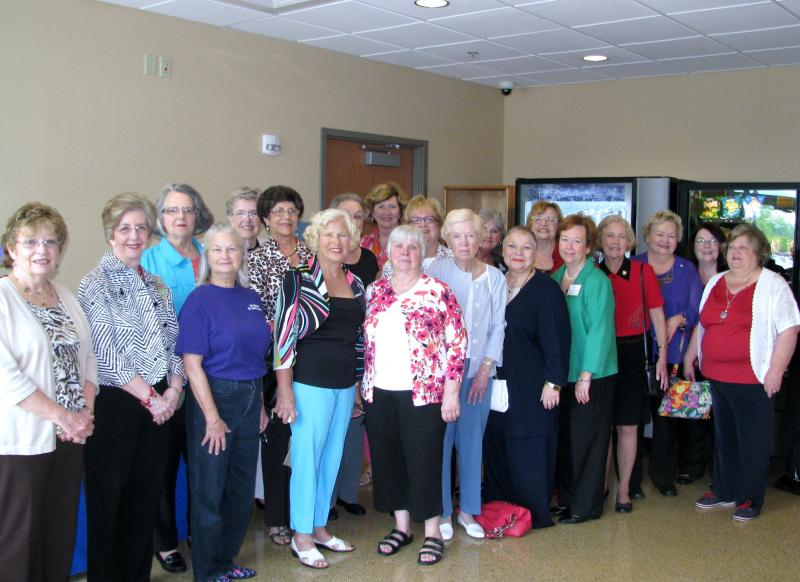 District 7 Volunteers at the VAMC- Wilmington Grand Opening Ceremony